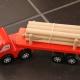 Camion transport de buche en bois