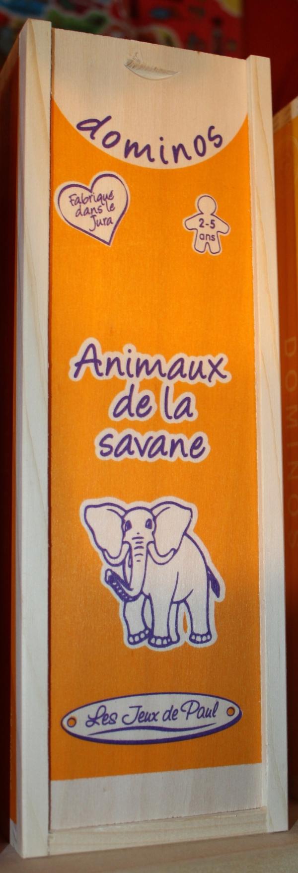 Dominos Animaux de la Savane
